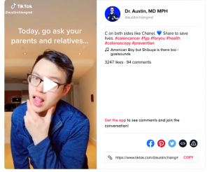 Dr Austin on TikTok